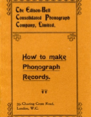 How to Make Phonograph Records
