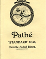 Pathé 'Standard' 10 inch Double-Sided Discs.
