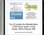 Hillandale News CD. 1 to 220